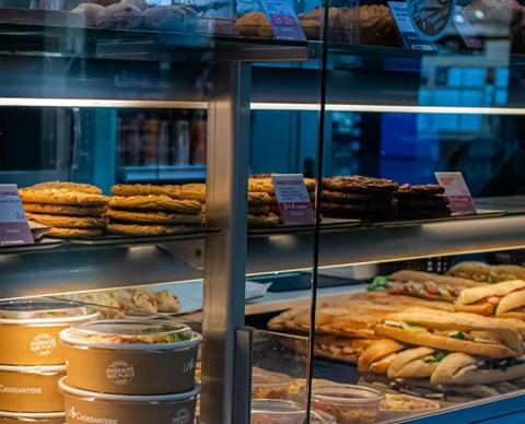 Croissanterie kiosque
