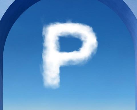 Picto blue - parking
