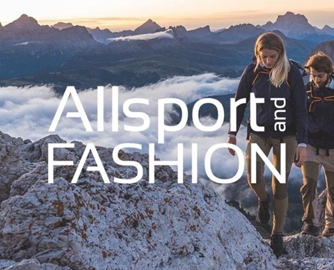 Allsport Store Homepage Centre Website
