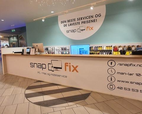 Snapfix butikkfront