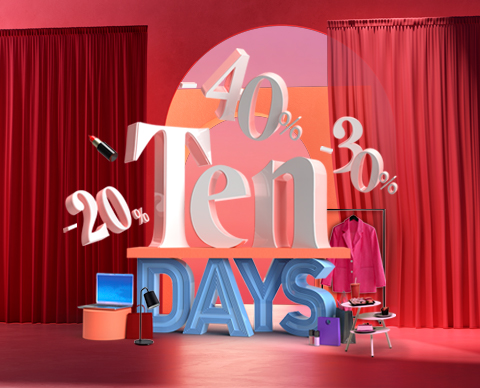 Ten Days descuentos exclusivos Nueva Condomina