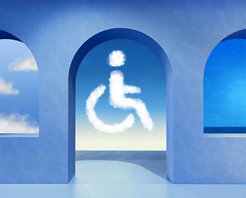 parking reservado personas con movilidad reducida