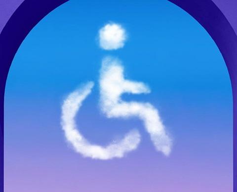 Handikap skylt