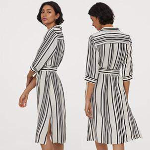 Skjortekjole fra H&M