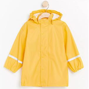 gul regnjacka