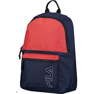 röd och svart fila ryggsäck
